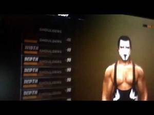Sting caw for WWE 12