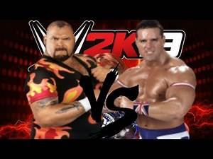 WWE 2K19 Matches Bam Bam Bigelow vs The British Bulldog