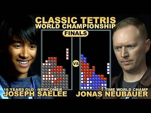 16 Y/O UNDERDOG vs. 7-TIME CHAMP - Classic Tetris World Championship 2018 Final Round