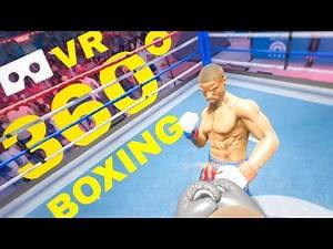 VR 360° Boxing 🔴 Losing Fight in Creed: Rise to Glory Rocky Balboa (Fail virtual Reality gameplay)