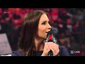 Stephanie Mcmahon gets kicked out of raw By shane mcmahon