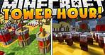 THE BEST TOWER DEFENSE GAME ON MINECRAFT REALMS IS BACK - TOWER HOUR   JeromeASF