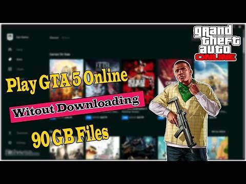 How To Download and Install GTA 5 Online Epic Games Without Downloading 90 Gb | Trick To Save Data