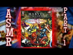 ASMR Reading From The Marvel Encyclopedia Part 1
