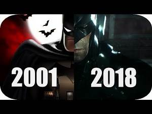 THE Evolution of Batman Games 2001-2018