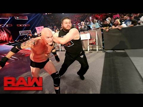 Gillberg returns to WWE: Raw, Feb. 13, 2017