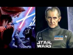 Tarkin's Reaction to Seeing the Vader vs. Obi-Wan Duel in A New Hope! (Legends)