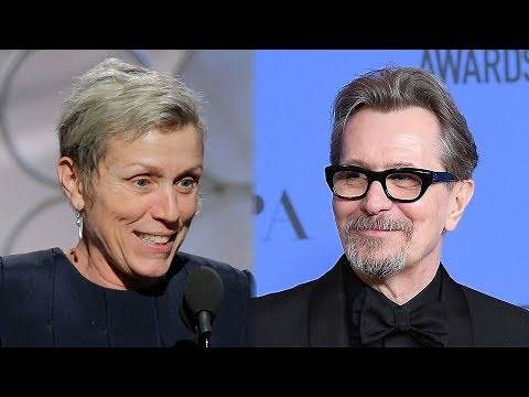 Frances McDormand & Gary Oldman Win Best Actor Awards At 2018 Golden Globes