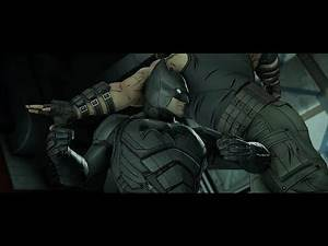 Batman Telltale - Batman vs Bane Fight