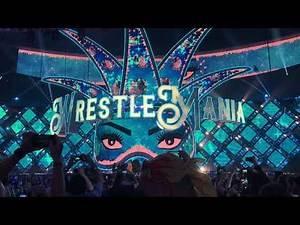 Wrestlemania 34 My View Charlotte Entrance
