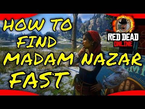 RDR2 - How to find Madam Nazar easily in Red Dead Online