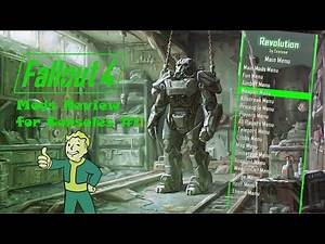 Fallout 4 Console Mods Review #11: Batman Outfit, Better Levelling up and Better Stores