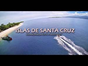 The Great & Small Santa Cruz Island Zamboanga City Philippines [TBS Discovery FPV Quadcopter]