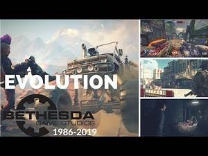Evolution of Bethesda Softworks Games 1986-2019