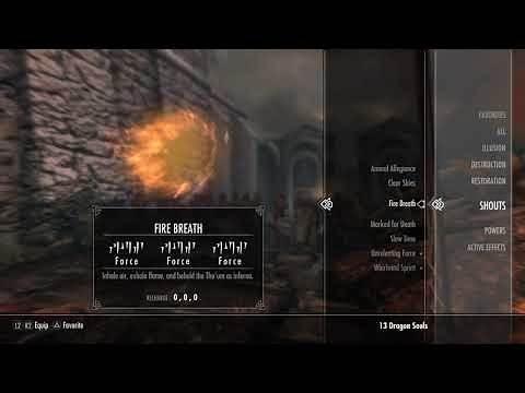 SKYRIM PS4 MODS POWERFUL SHOUTS