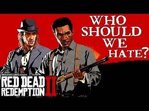 Sean and Lenny talk about Hate | Red Dead Redemption 2