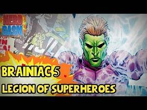 Who is Brainiac 5? History of Brainiac 5 | Supergirl Season 3 Legion of Superheroes