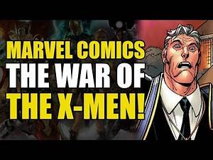 War of The X-Men! (New X-Men Vol 2: Crusade)