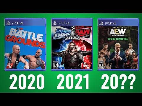 ALL Upcoming Wrestling Video Games (WWE, AEW & More) - 2020 - 20??
