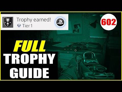 Call of Duty: Modern Warfare COMPLETE Platinum Trophy Guide (ALL COD MW 2019 Trophies!)