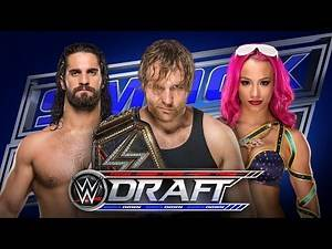 WWE 2016 DRAFT!!! Tuesday Night SmackDown! LIVE REACTION