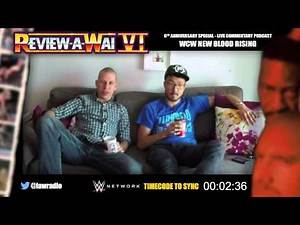 WCW New Blood Rising (Live Commentary/Reaction) | REVIEW-A-WAI 6th ANNIVERSARY