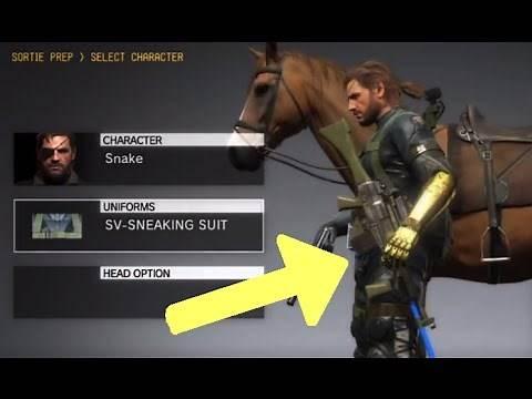 MGSV: Phantom Pain - Unlock Ground Zeroes Save Data Items (Metal Gear Solid 5)