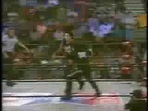WCW STING(USA) VS VAMPIRO CASANOVA(MEXICO) RIVALRY