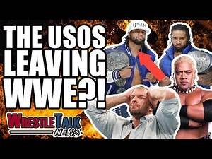 Are The Usos LEAVING WWE?! AEW Announce New Match! | WrestleTalk News Feb. 2019