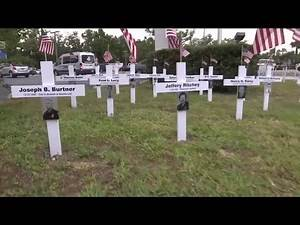Officers killed in the line of duty