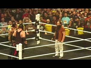 CRAZY! Undertaker & Kane RETURN WWE Raw Manchester 9/11/15