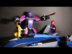 Lego 76022 Marvel SuperHeroes X Men vs The Sentinel Review