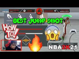 *NEW* 🔥 HOW TO MAKE THE BEST 🟢 JUMP SHOT CREATOR 🟢 PS5 NEXT GEN GAME PLAY 😱 PS4 ONLINE 2K 🏀 NBA 2K21