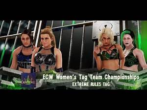 Killer Elite Squad vs. Natural Disasters for the ECW Women's Tag Team Championship