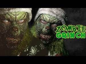 The Zombie Grinch Makeup