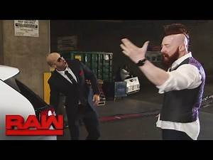 Cesaro & Sheamus have some travel woes: Raw, Oct. 3, 2016