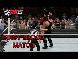 WWE 2K15 PC Mod - Undertaker vs Brock Lesnar First Blood Match