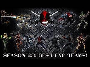 Marvel: Avengers Alliance: Best PVP Teams for Season 23!
