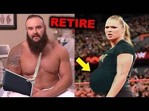 10 WWE Wrestlers Who Will Be Forced to Retire - Braun Strowman & Ronda Rousey Retiring?