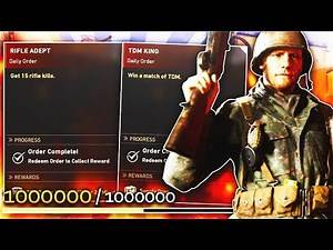 5 BEST WAYS TO LEVEL UP FAST IN CALL OF DUTY WORLD WAR 2! (WW2 TIPS/TRICKS)