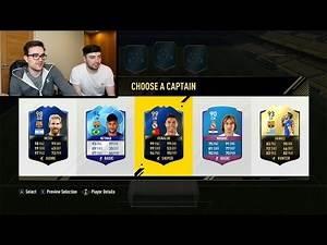 FIFA 17 TEAM OF THE YEAR FUT DRAFT CHALLENGE!!!