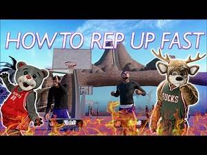 How To Rep Up Fast | NBA 2K16 MYPARK