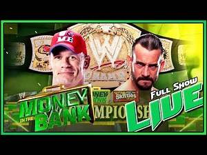WWE Money In The Bank PPV 2011 Full Show Reactions
