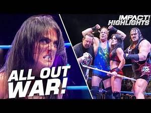 Tessa Blanchard's EXTREME Team Clashes with Sami Callihan & oVe!   IMPACT! Highlights Sep 20, 2019