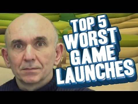 Top 5 - Worst video game launches