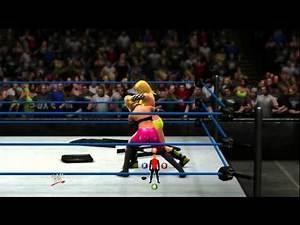 WWE '13 Diva CAW Match 1: j0066553 vs. Nightowl83