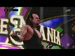 WrestleMania 34: The Undertaker vs John Cena (WWE 2K19)