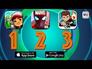 Top 3 Running Games - Subway Surfers, MARVEL Spider-Man, Ben 10 Up to Speed [iOS Android]