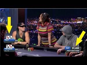 Poker Manz SHOVES ALL IN vs. Jennifer Tilly