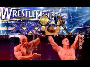 Ranking EVERY WrestleMania Main Event ( from Best to Worst )